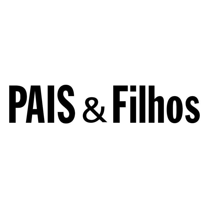 PAIS & Filhos vector