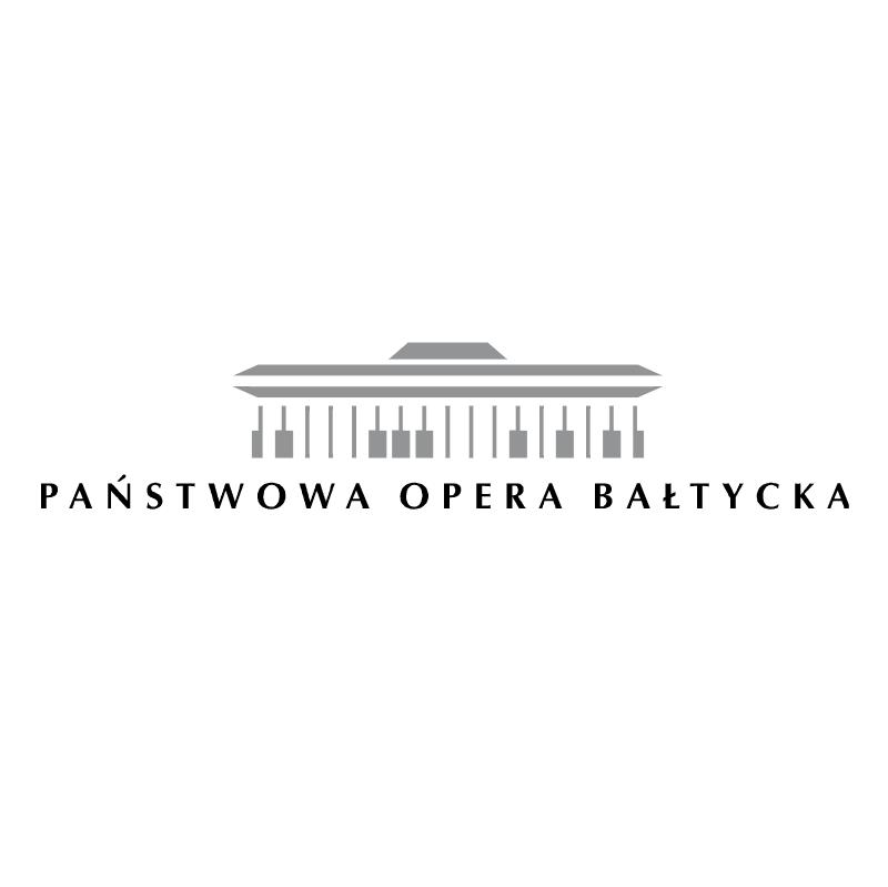 Panstwowa Opera Baltycka vector