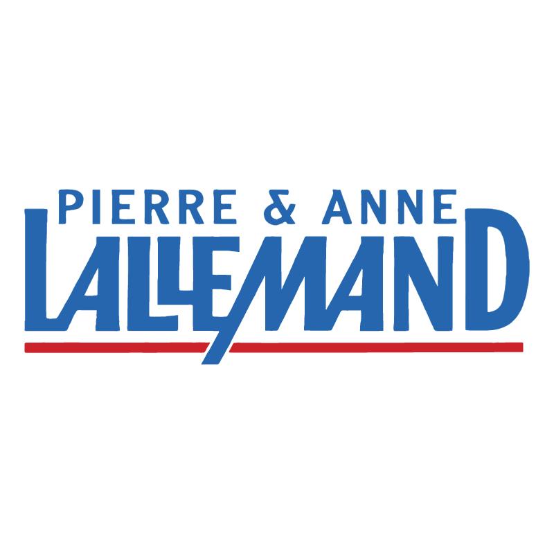 Pierre & Anne Lallemand vector logo