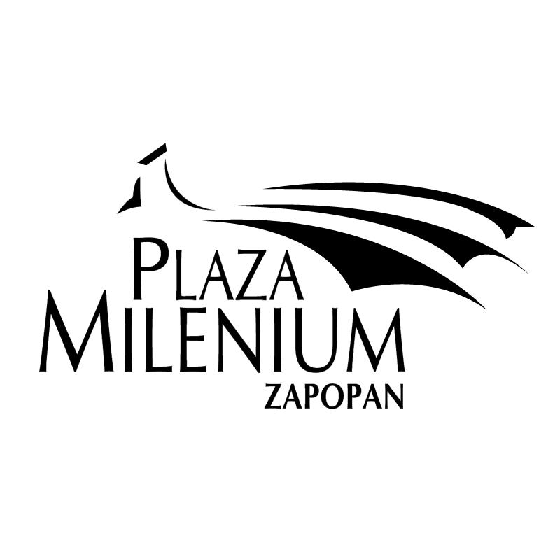 Plaza Milenium vector