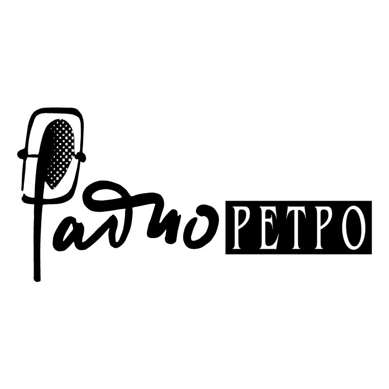 Radio Retro vector logo