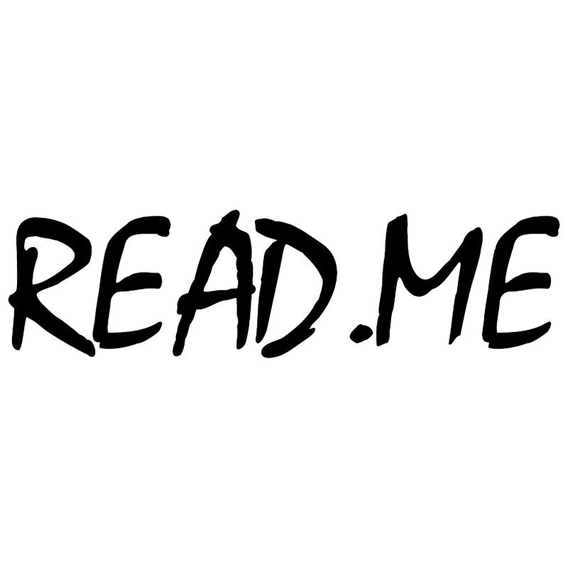 Read Me Magazine vector
