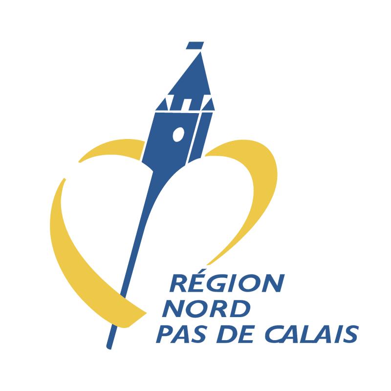 Region Nord Pas de Calais vector