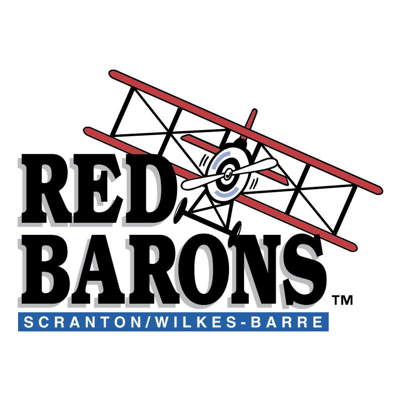 Scranton Wilkes Barre Red Barons vector