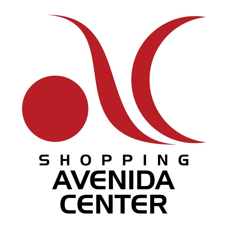 Shopping Avenida Center vector