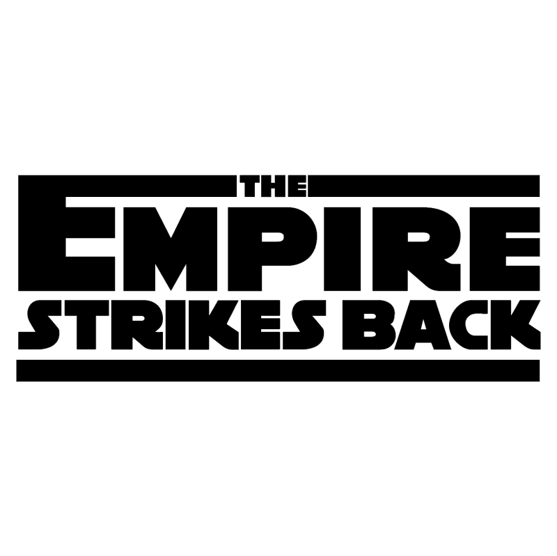 The Empire Strikes Back vector