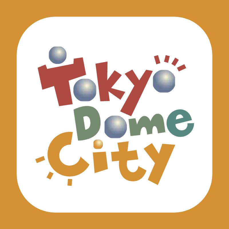 Tokyo Dome City vector