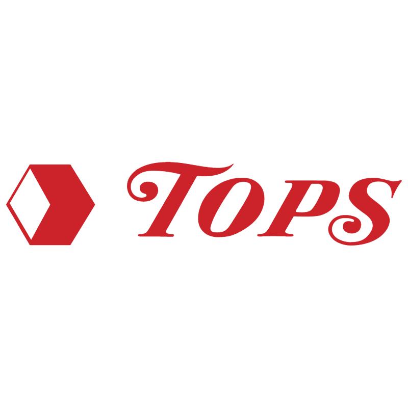 Tops vector logo