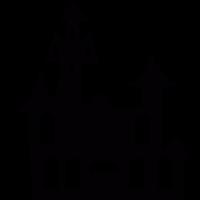 Dracula Castle vector