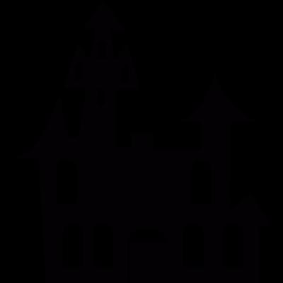 Dracula Castle vector logo
