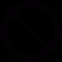 Prohibition Circle vector
