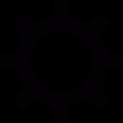 Monitor brightness symbol vector logo