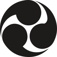 Circular Symbol of Japan vector
