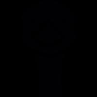 Duck portrait vector