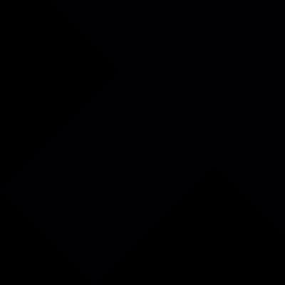 Arrow straight to upper right vector logo