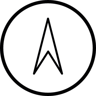 Navigation, IOS 7 interface symbol vector logo