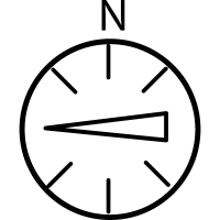 West, IOS 7 interface symbol vector