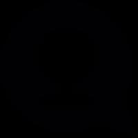 Speech balloon with webcam vector