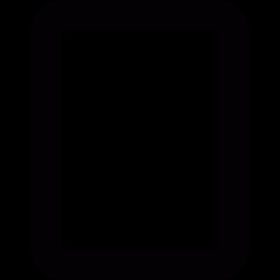Blank document vector logo