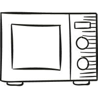 Microwaves Oven vector