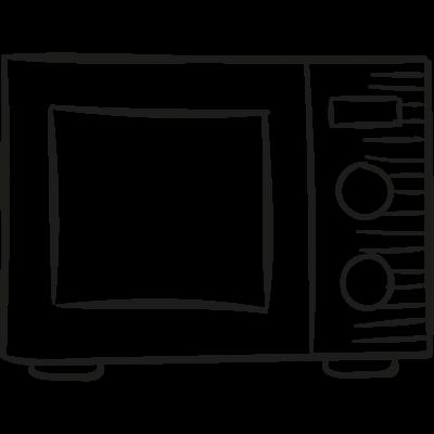 Microwaves Oven vector logo