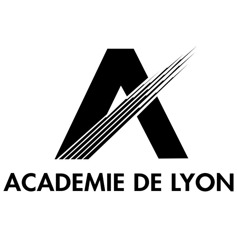 Academie de Lyon vector