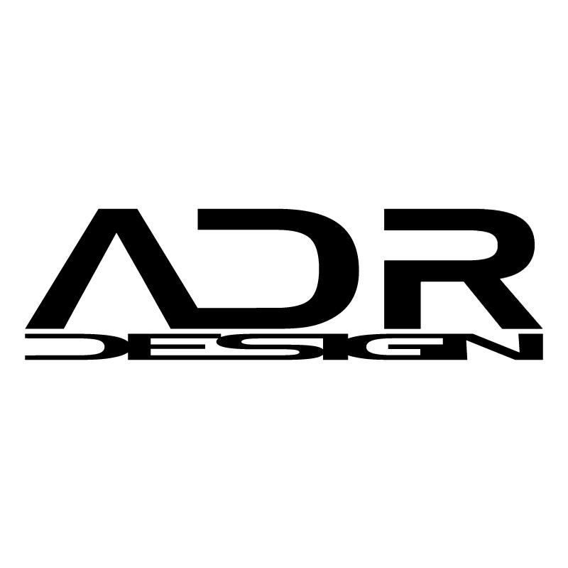 ADR Design vector logo