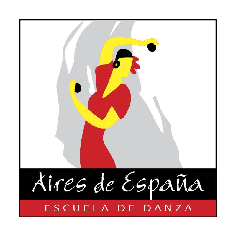 Aires de Espana Escuela de Danza vector