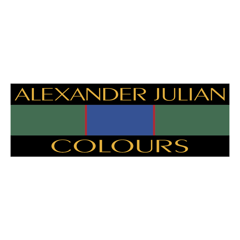 Alexander Julian Colours vector
