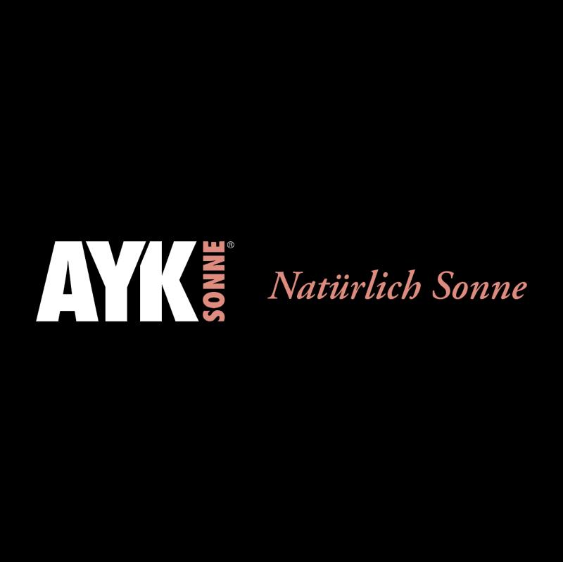 AYK Sonne vector
