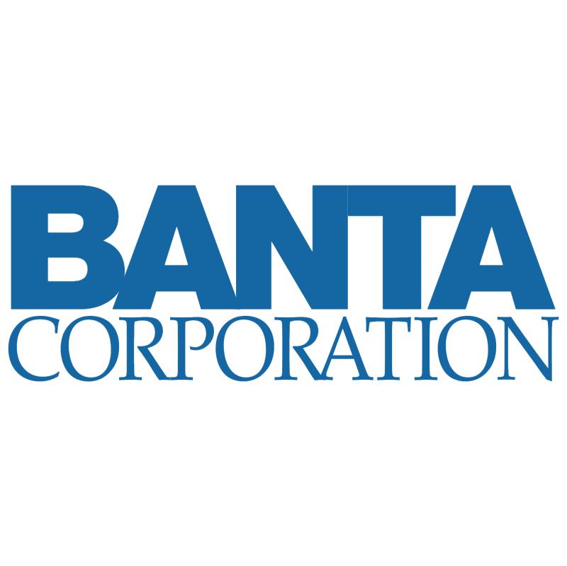 Banta Corporation 23902 vector