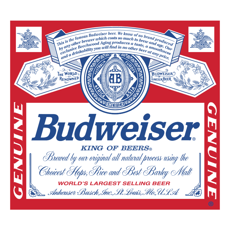 Budweiser 75532 vector