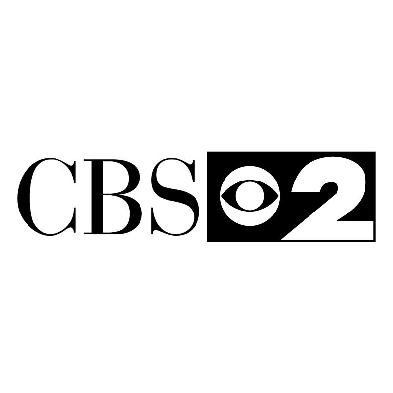 CBS 2 vector logo