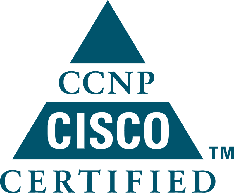 CCNP Cisco Sertified logo vector