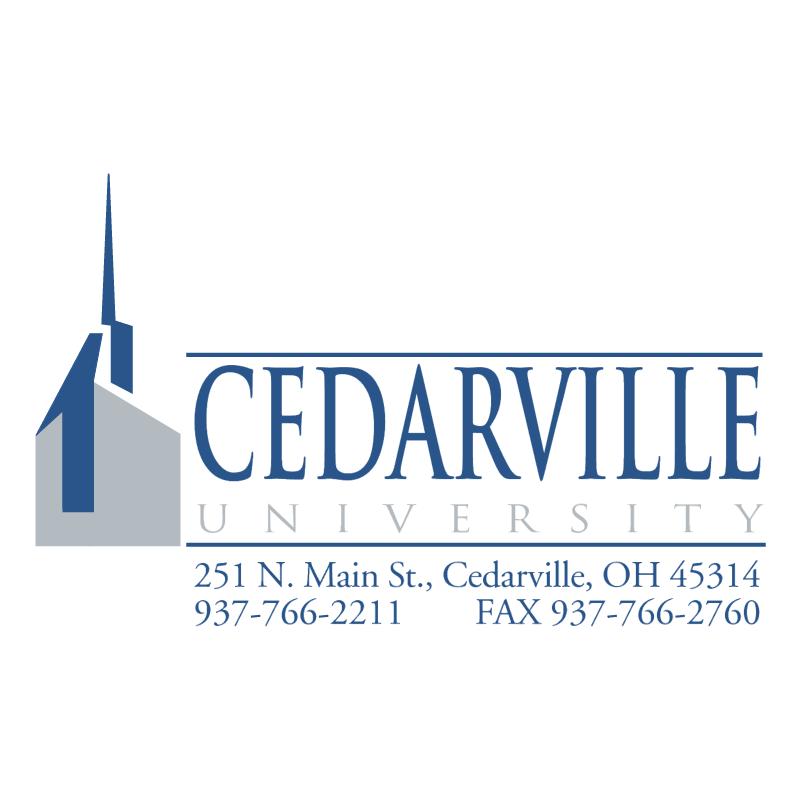 Cedarville University vector