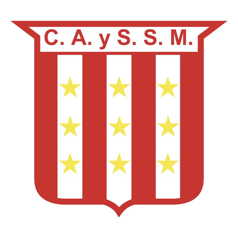 Club Atletico y Social San Martin de Roberts vector