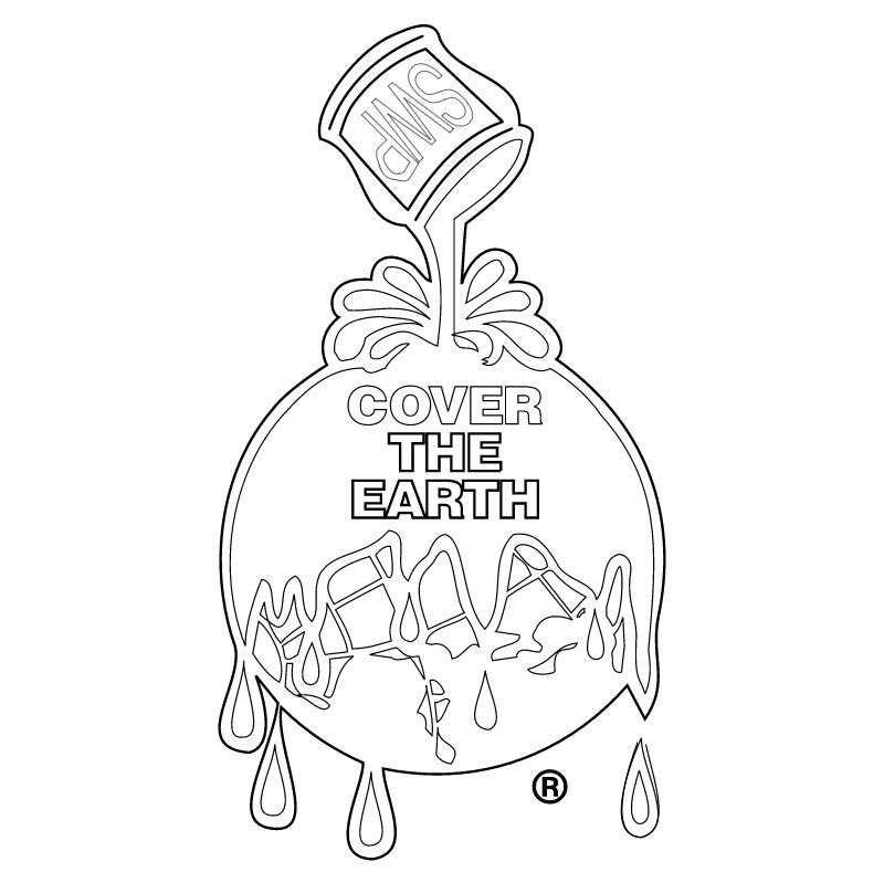 Cover The Earth vector logo