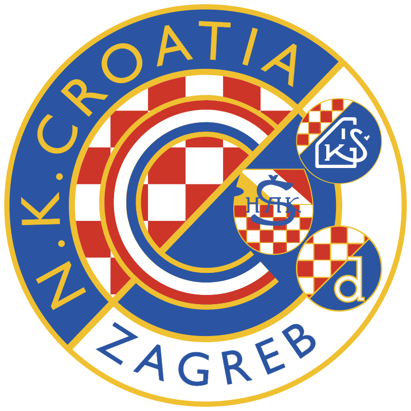 croatia zagreb vector