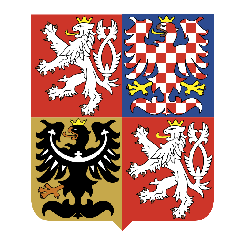 Czech Republic National Emblem vector