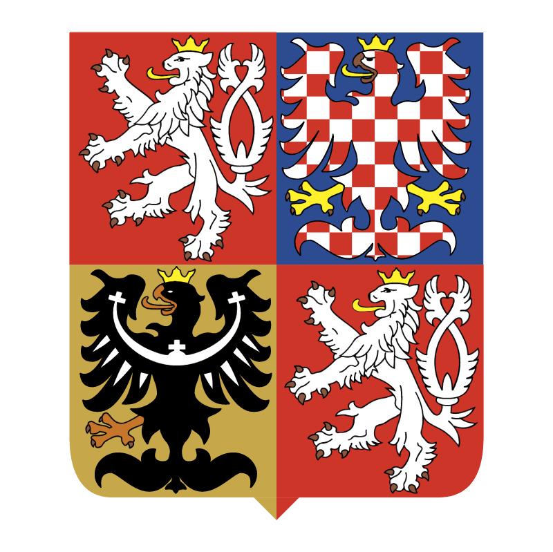 Czech Republic National Emblem vector