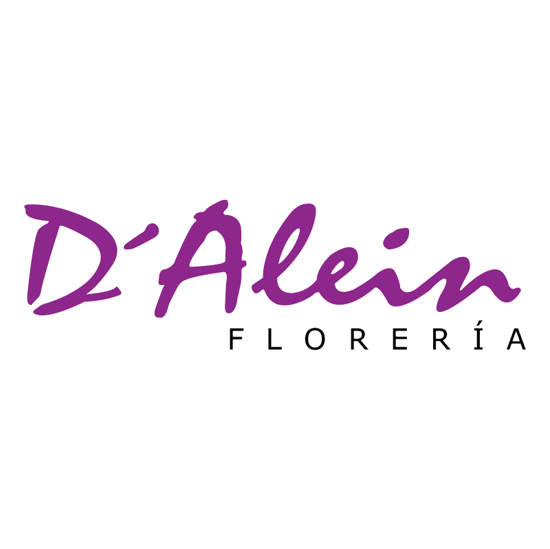 D'Alein Floreria vector