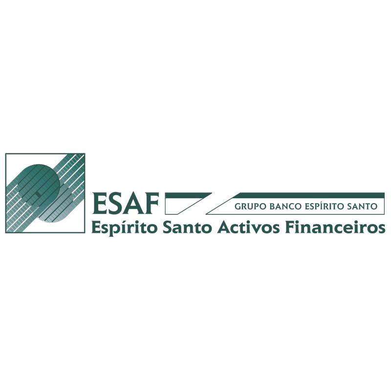 ESAF Espirito Santo Activos Financeiros vector