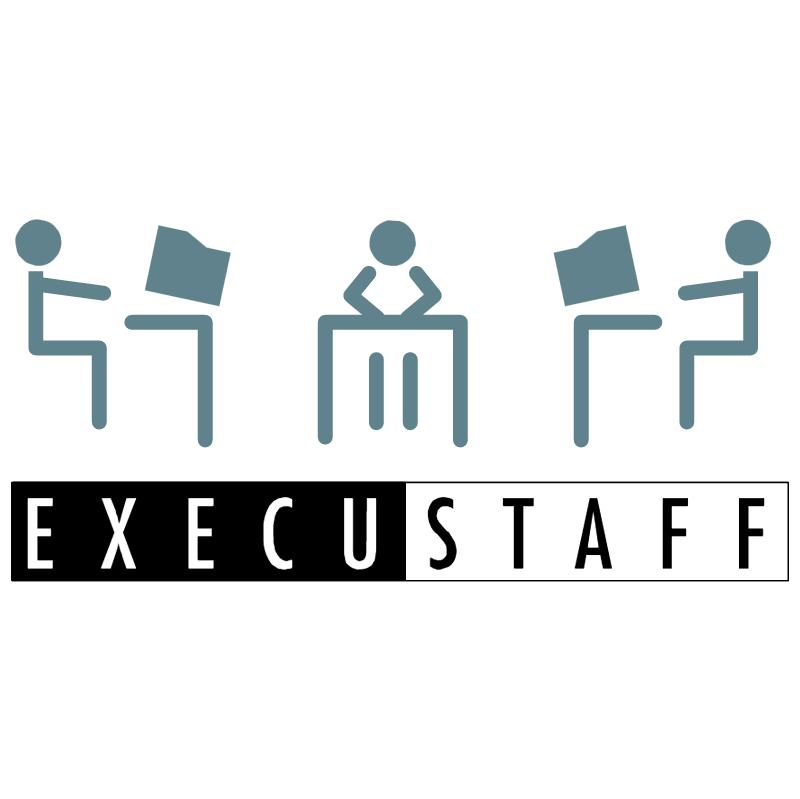 Execustaff vector logo