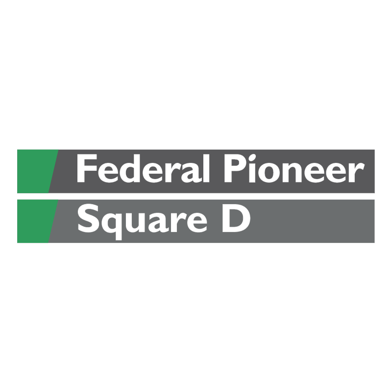 Federal Pioneer Square D vector logo