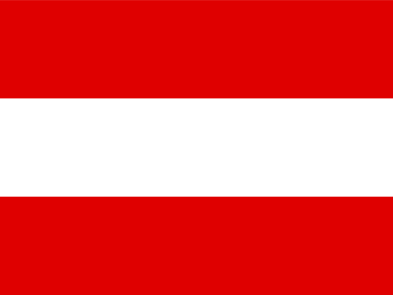 Flag of Austria vector