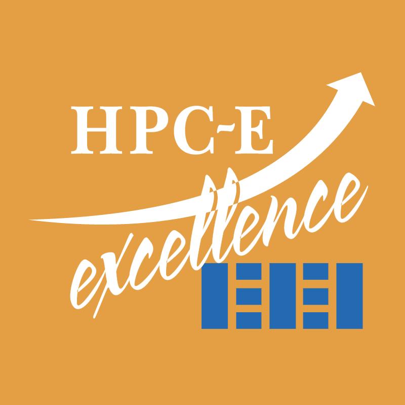 HPC E Excellence vector logo