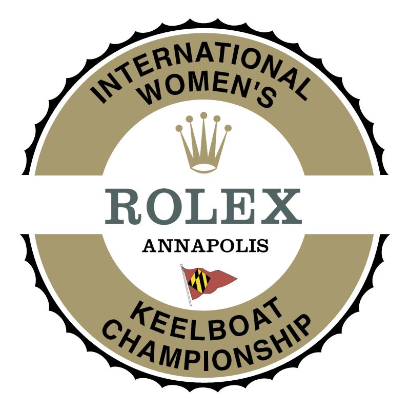 International Women's Keelboat Championship vector