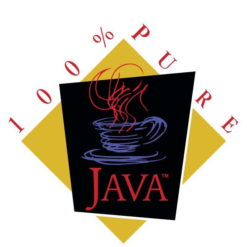 Java 100 Pure vector logo