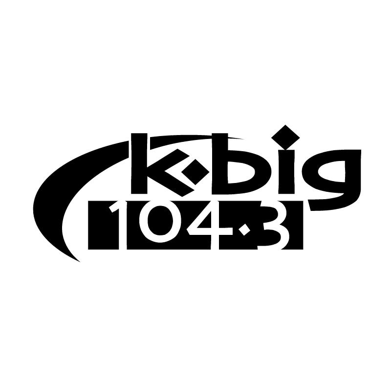 K Big 104 3 vector logo