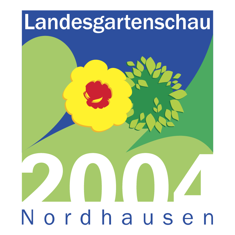 Landesgartenschau Nordhausen vector